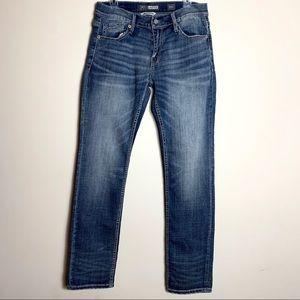 NEW BKE Carter Straight Leg Jeans 32L Long 32 x 34